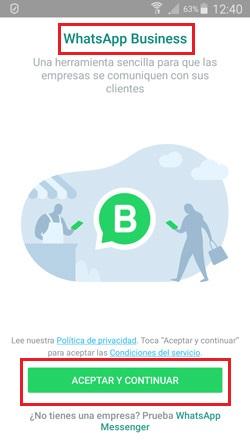 Come creare un account WhatsApp Business? Guida passo passo 4