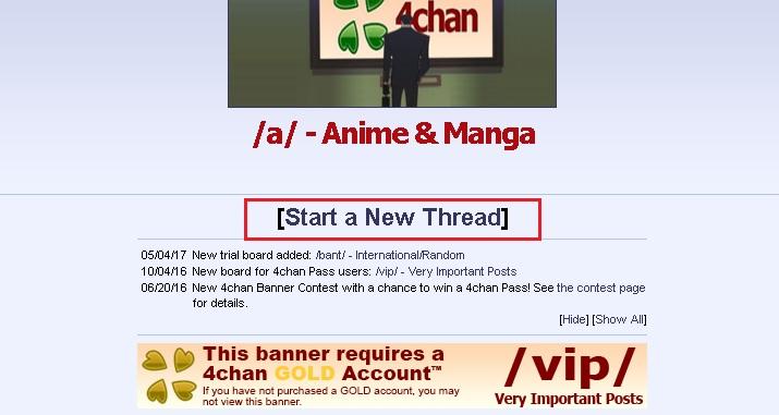 Come usare 4Chan e navigare in questo forum? Quali alternative esistono oggi in spagnolo? 3