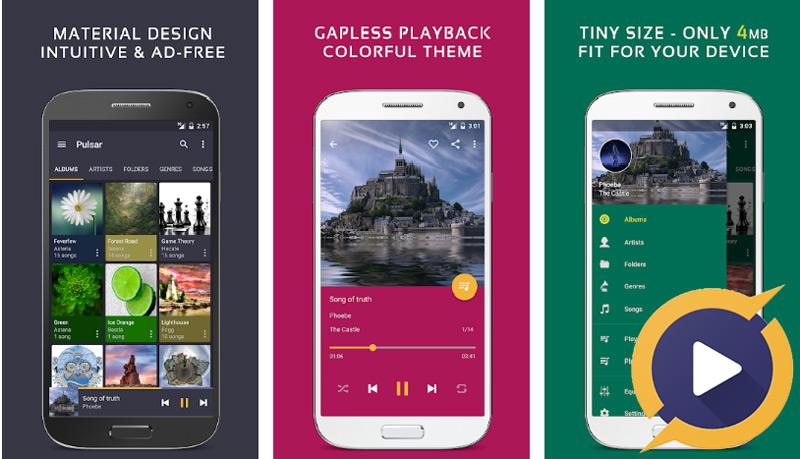 Quali sono i migliori lettori di musica gratuiti senza pubblicità per Android? Elenco 2019 4