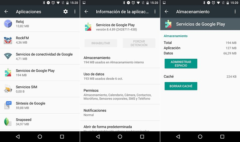 Che cosa sono i servizi di Google Play e come aggiornarli? 1