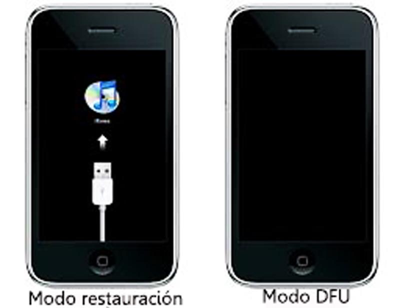 Come mettere un iPhone o iPad in modalità DFU o di ripristino? Guida passo passo 4