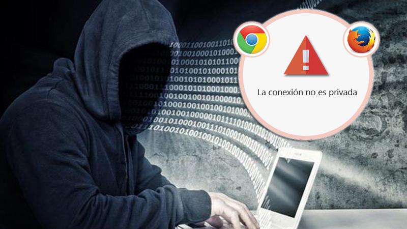 Correggi l'errore: «La connessione non è privata» in Chrome e Firefox - Guida dettagliata 2019 1