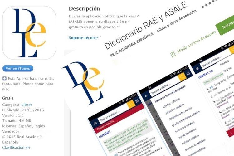 Applicazioni per consultare il dizionario RAE su cellulare 1