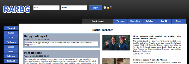 ExtraTorrents si chiude Quali alternative per scaricare i Torrent sono ancora aperte? Elenco 2019 6