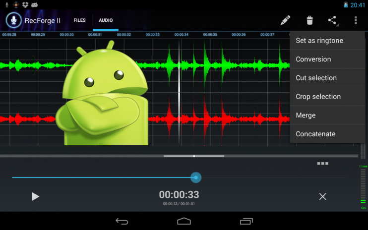 Quali sono le migliori applicazioni di registrazione vocale per Android? Elenco 2019 7