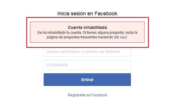 Come attivare e ripristinare il mio account Facebook disabilitato? Guida passo passo 2