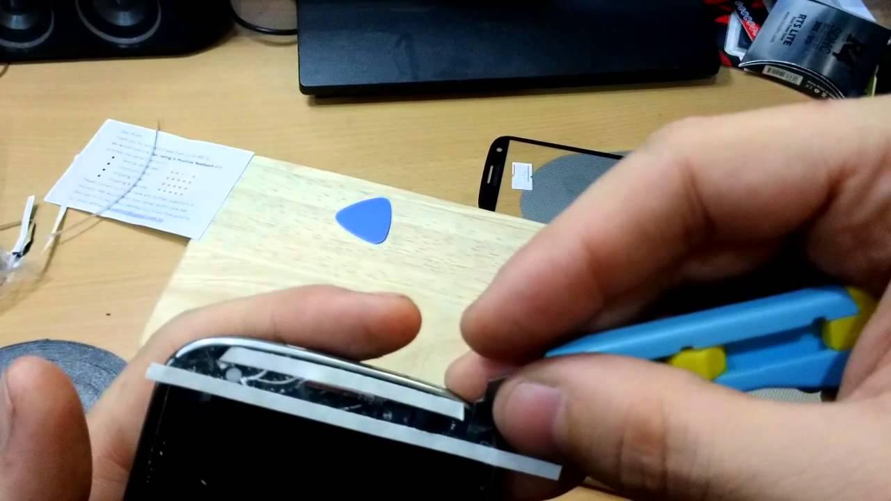Come riparare i bordi di un Samsung Galaxy? 1