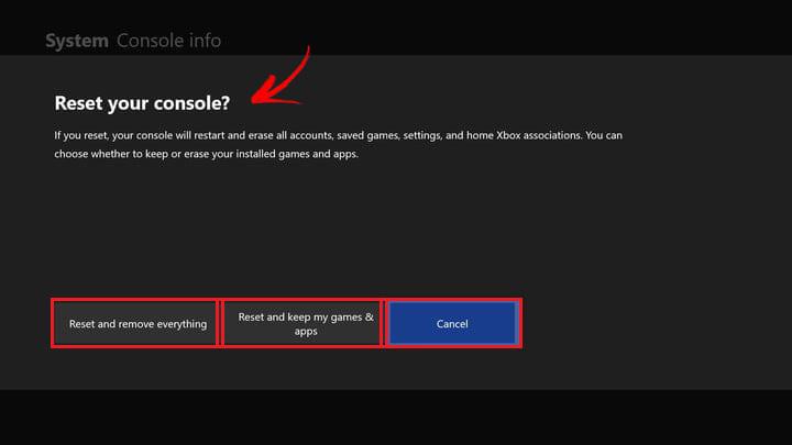 Come ripristinare una Xbox One e ripristinare le impostazioni predefinite di fabbrica? Guida passo passo 5