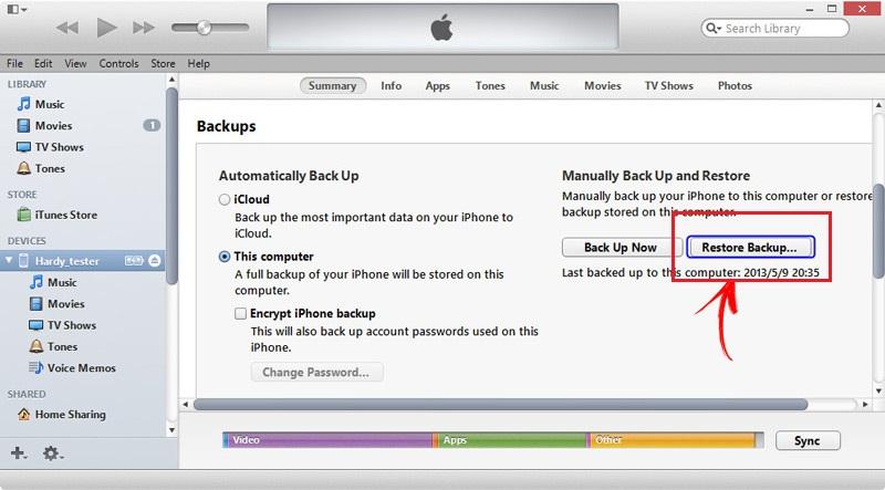 Come recuperare tutte le foto cancellate dal telefono iPhone o iPad? Guida passo passo 3