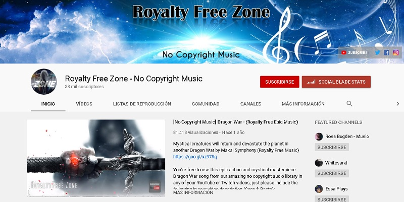 Quali sono i migliori siti Web e canali per scaricare musica per YouTube senza copyright o copyright totalmente gratuiti? Elenco 2019 18