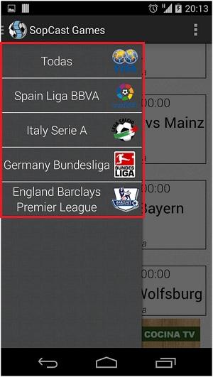 Quali sono le migliori applicazioni per guardare il calcio su Android gratuitamente e senza tagli? Elenco 2019 7