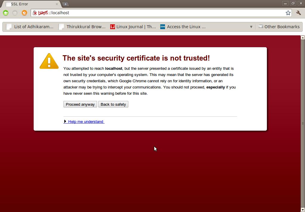 Correggi errore SSL in Google Chrome [Tutorial completo] 3