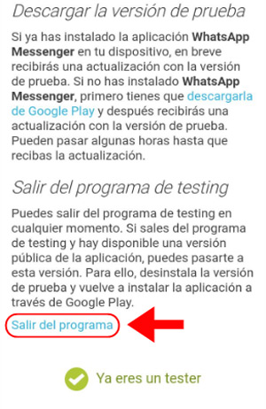 La mia WhatsApp è scaduta. Come posso rinnovare la versione della mia app? 6