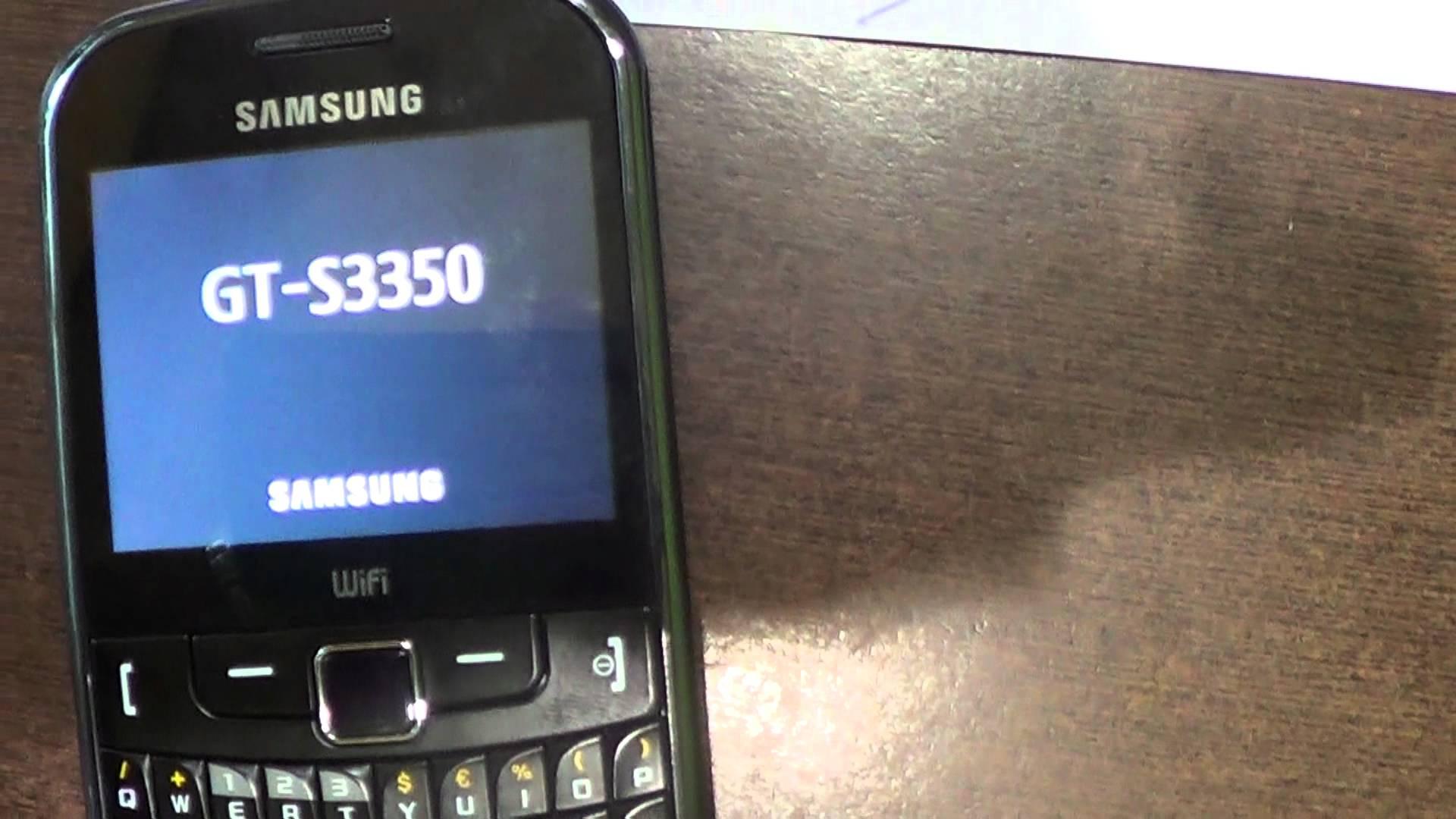 Come risolvere il problema Wifi su un Samsung GT-S3350 2
