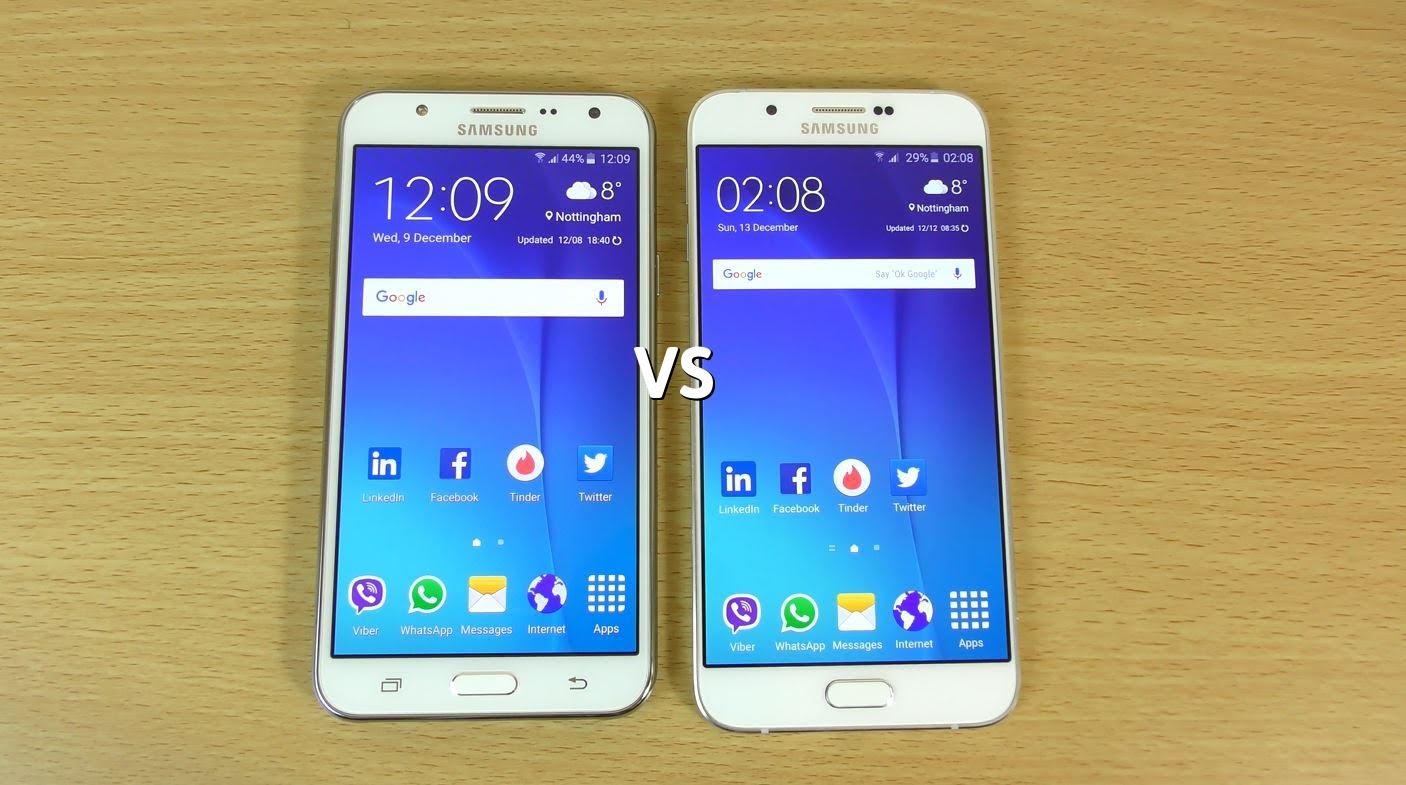 Samsung Galaxy A8 vs Samsung J7 Qual è il migliore? 2