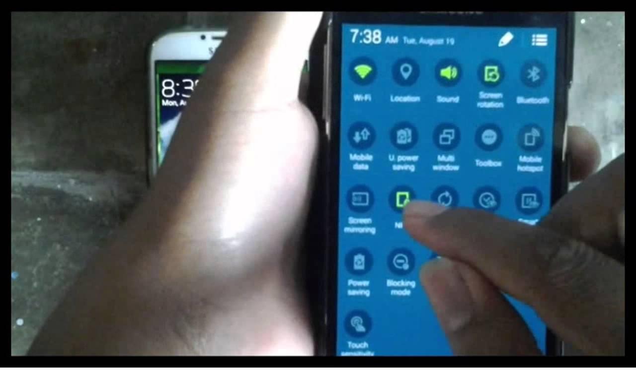 Come attivare l'NFC su un Samsung Galaxy J? 1
