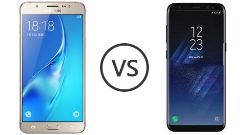 Differenze tra Samsung Galaxy J7 e Galaxy S8 1