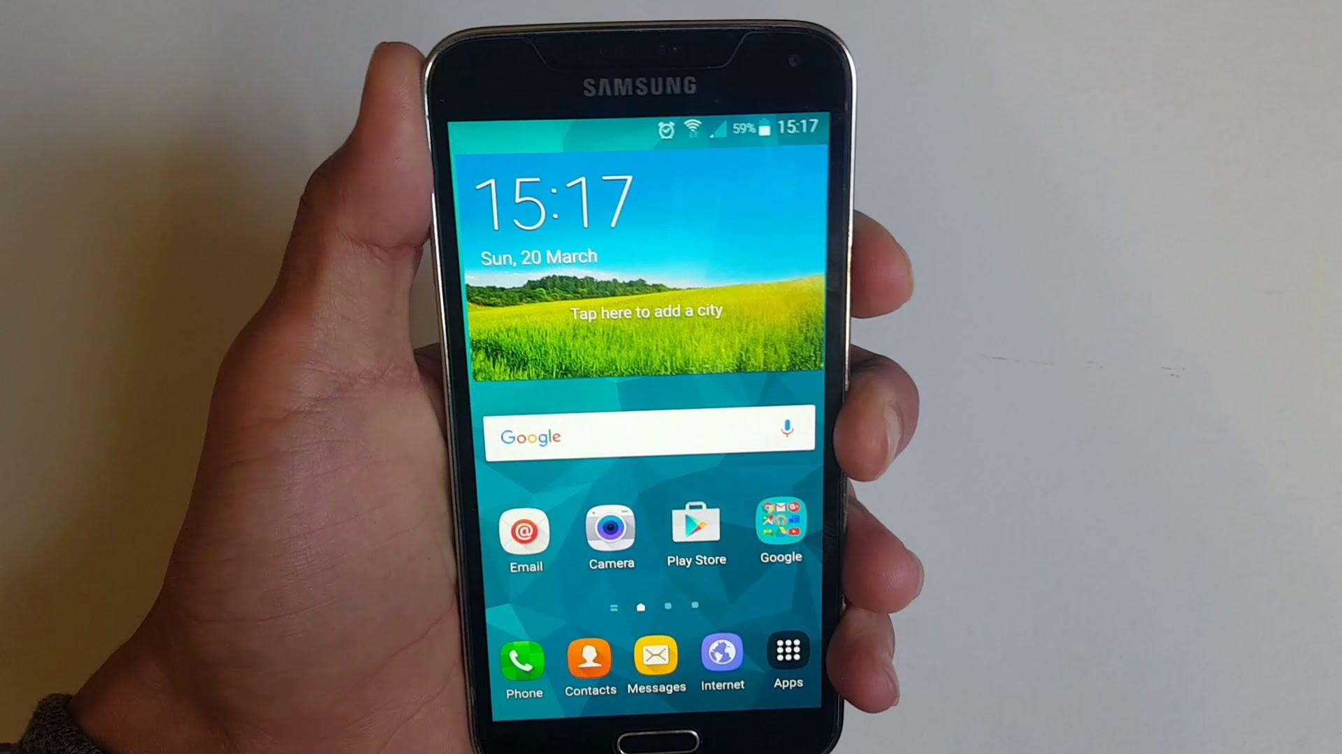 Aggiorna un Samsung Galaxy S5 ad Android 6.0.1 Marshmallow passo dopo passo 1