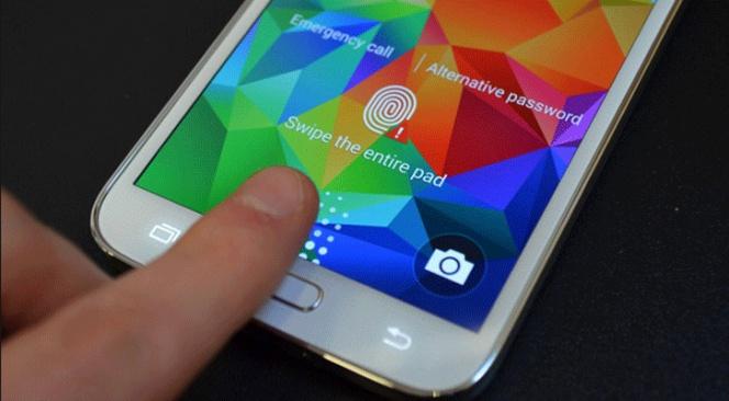 Come rimuovere il blocco dello schermo tramite l'impronta digitale del Galaxy S5? 1