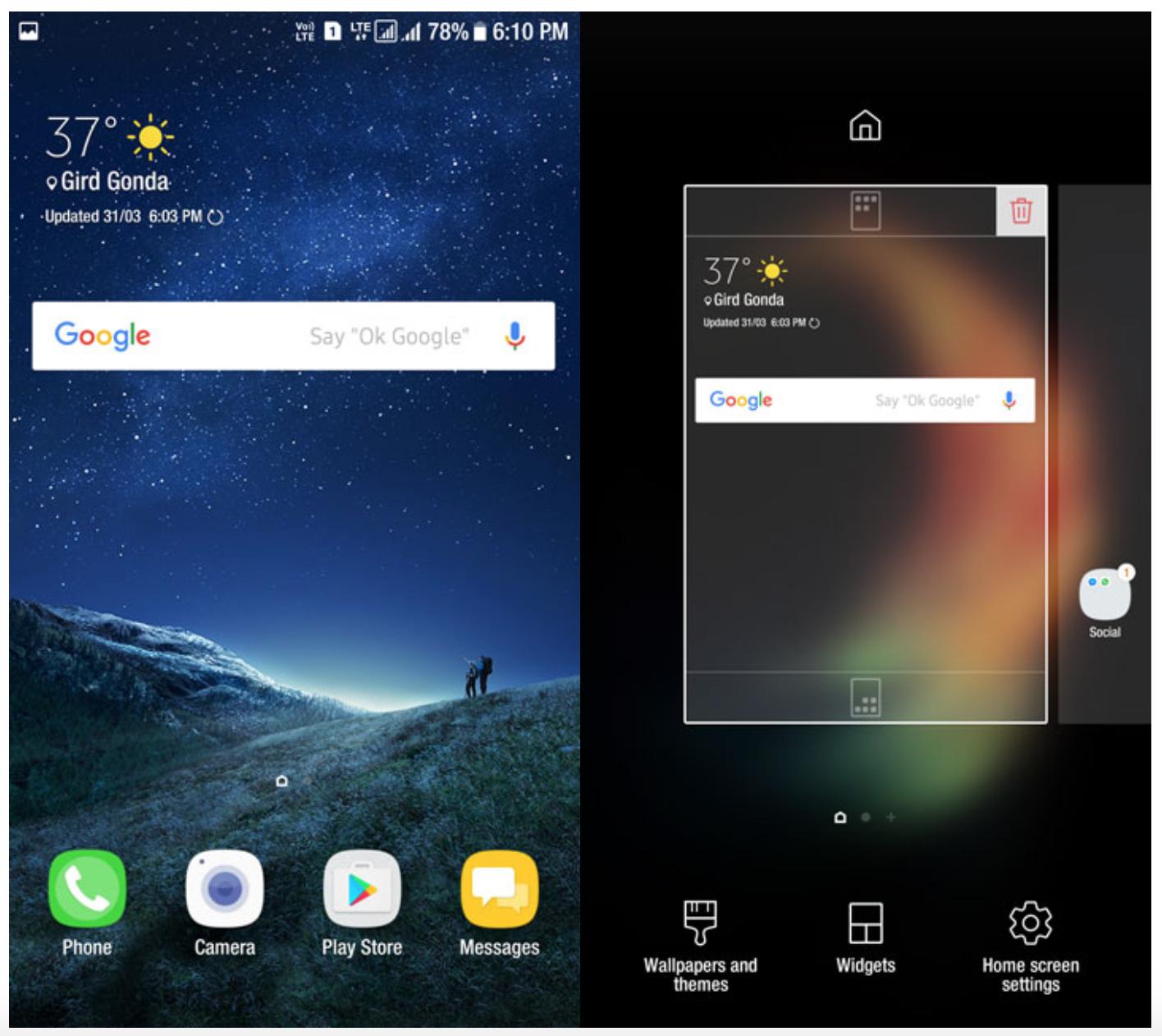 Trasforma qualsiasi Android in un Samsung Galaxy S8 con questo Launcher 1