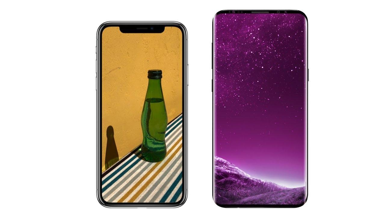 Samsung Galaxy S9 vs iPhone X: quale sarà meglio? 1
