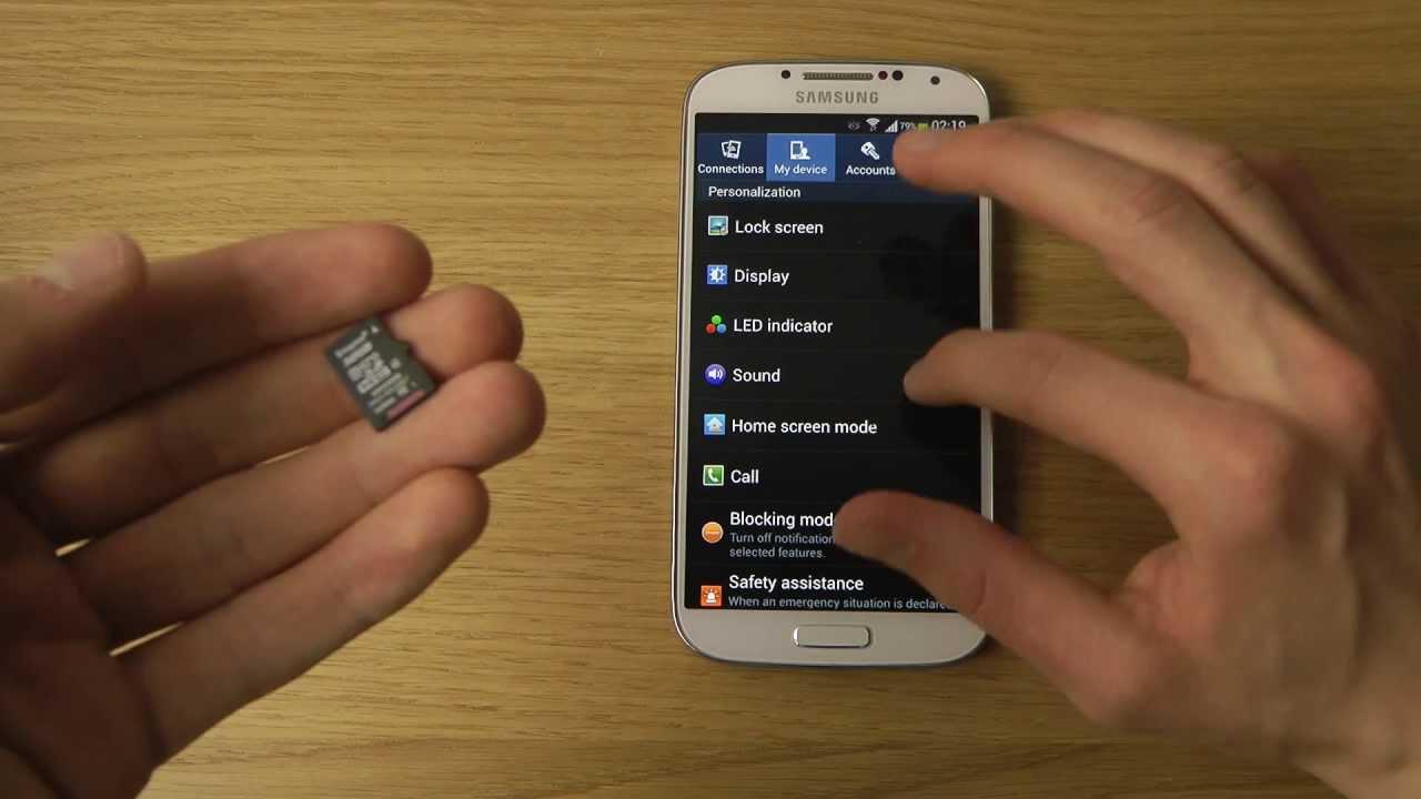 Perché un cellulare Samsung non riconosce la scheda SD 1
