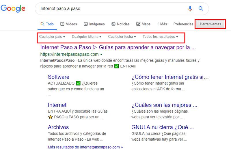 Come configurare il motore di ricerca di Google per eseguire ricerche più precise? Guida passo passo 4
