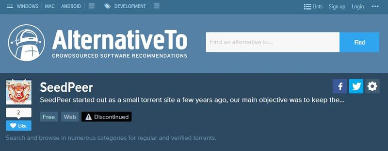 Quali sono le migliori pagine e motori di ricerca per i file di download Torrent che non sono stati bloccati? Elenco 2019 6