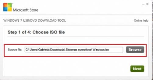 Come creare un USB avviabile o avviabile per installare Windows 7 da un pendrive esterno? Guida passo passo 1