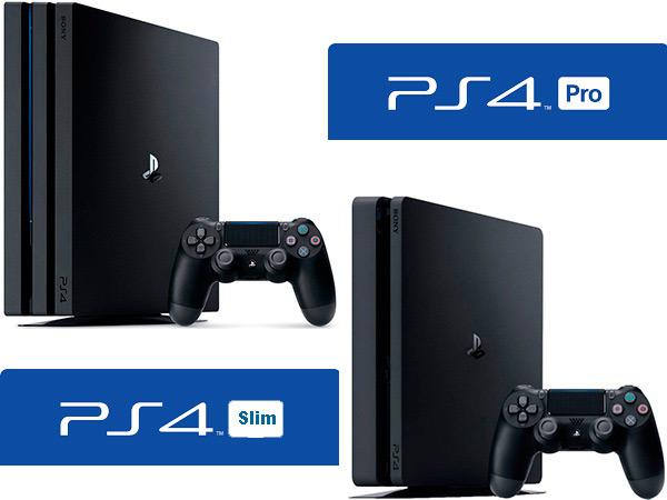 Quali sono le differenze tra PS4 Slim e la console PS4 Pro? confronto 3