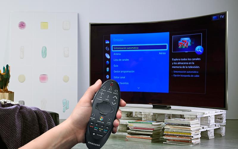 Sintonizza i canali su Samsung Smart TV 1
