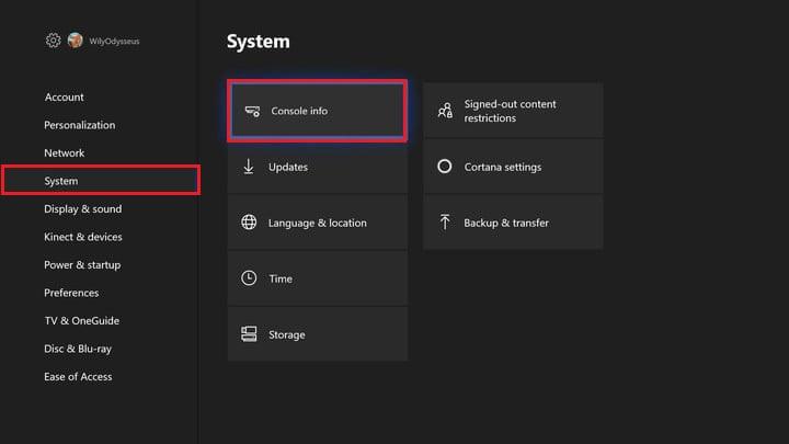Come ripristinare una Xbox One e ripristinare le impostazioni predefinite di fabbrica? Guida passo passo 3