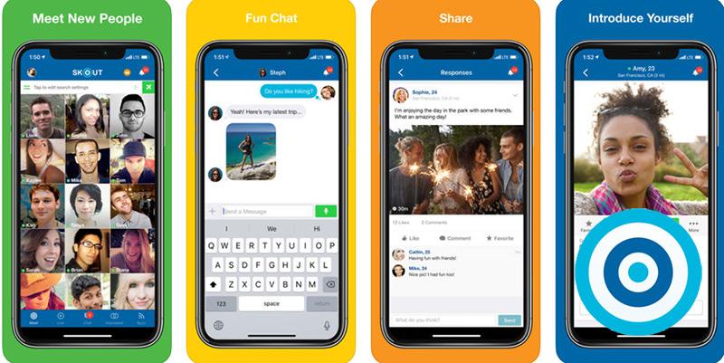 Quali sono le migliori applicazioni per chattare, incontrare persone e fare amicizia online gratuitamente? Elenco 2019 24