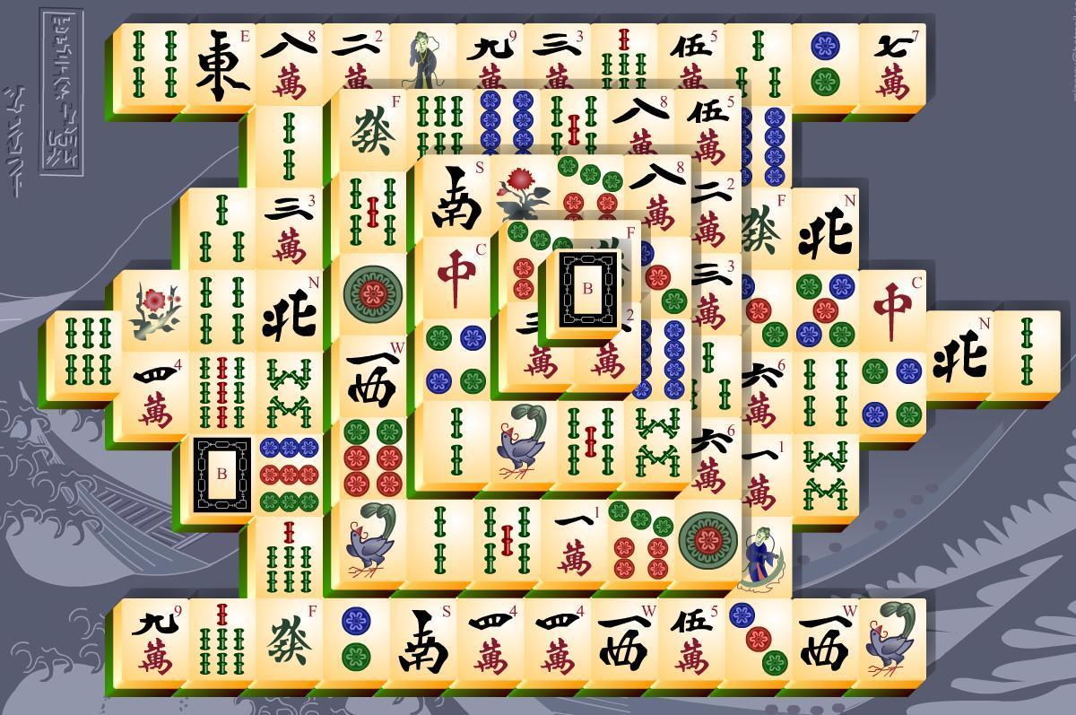 Mahjong solitario per il tuo cellulare 1