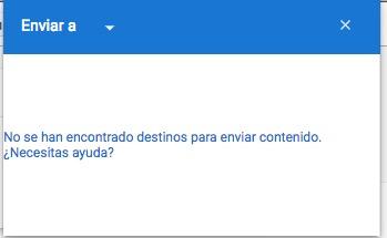 Soluzione: non è stata trovata alcuna destinazione per inviare contenuti su Chromecast 1