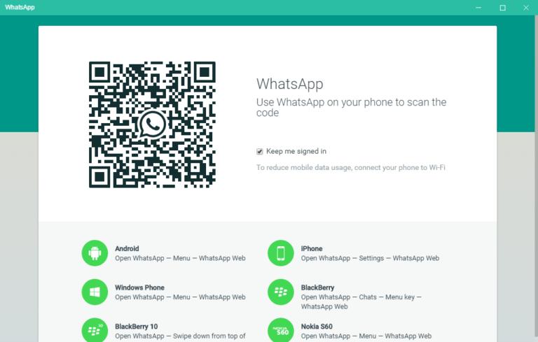 Soluzione: errore del certificato Web di WhatsApp 1