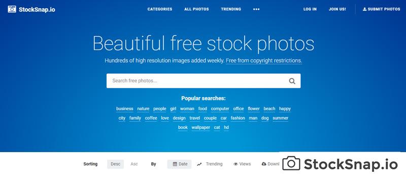 Quali sono i migliori siti Web per scaricare foto gratuite? Elenco 2019 7