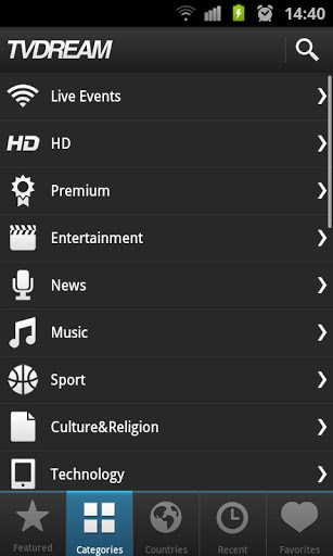 Quali sono le migliori applicazioni per guardare il calcio su Android gratuitamente e senza tagli? Elenco 2019 5