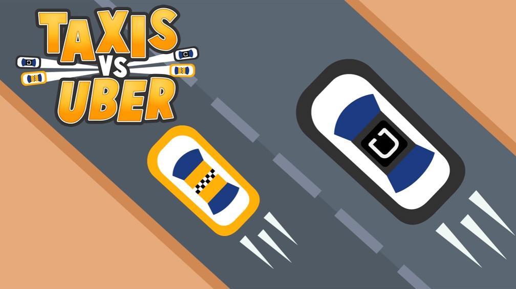 Scarica Taxi vs Uber per Android. Quanto tempo puoi raggiungere il tuo obiettivo? 1