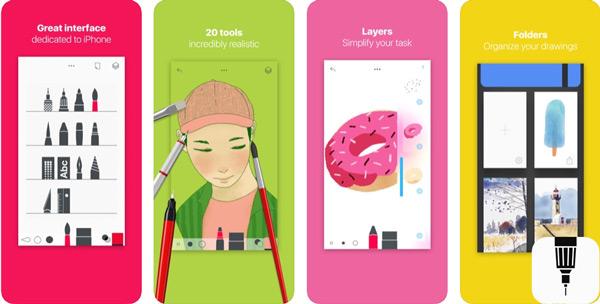 Quali sono le migliori applicazioni da disegnare su iPhone o iPad? Elenco 2019 1