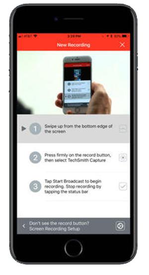 Quali sono le migliori applicazioni per registrare lo schermo sul telefono iPhone? Elenco 2019 9