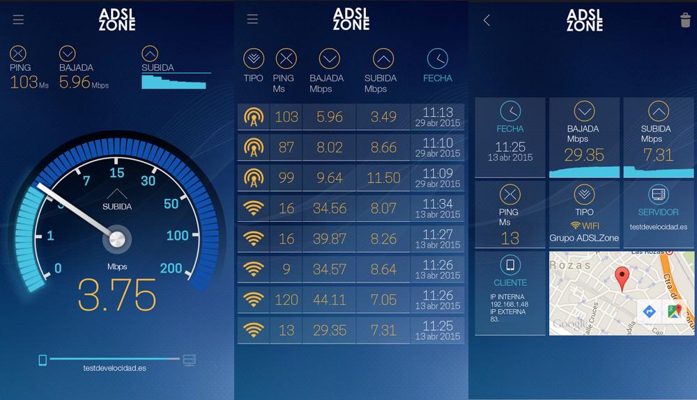 Scarica il test di velocità per Android e misura il tuo 4G 1
