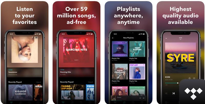 Quali sono i migliori lettori e app musicali gratuiti per iPhone, iPod e iPad? 2019 20