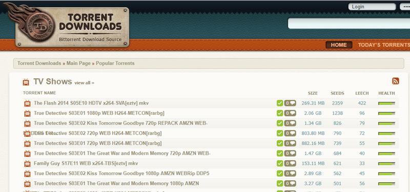 Quali sono le migliori pagine e motori di ricerca per i file di download Torrent che non sono stati bloccati? Elenco 2019 22