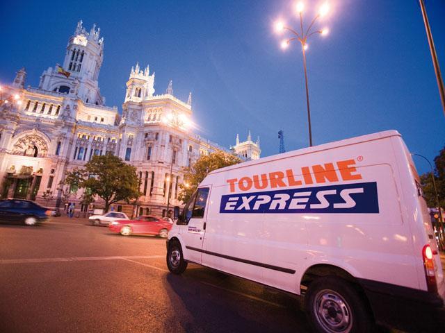 Come tenere traccia dei pacchetti Tourline Express 2