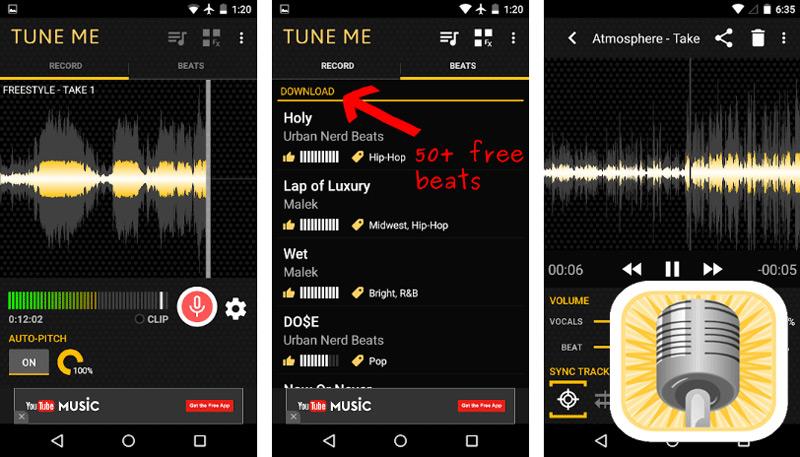 Quali sono le migliori applicazioni per cantare bene e sintonizzare per Android e iOS? Elenco 2019 11