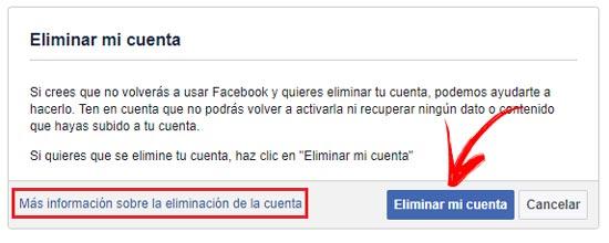 Come eliminare un account Facebook per sempre? Guida passo passo 5