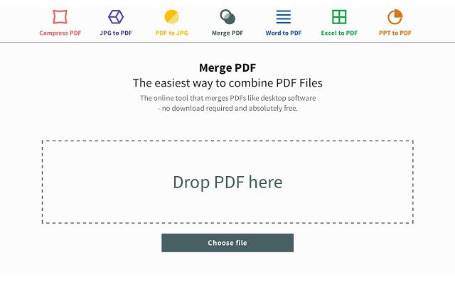 Come unire più file PDF in un unico documento? 1