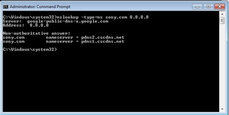 Come conoscere l'indirizzo IP di Google e qualsiasi altro dominio Internet? Guida passo passo 2