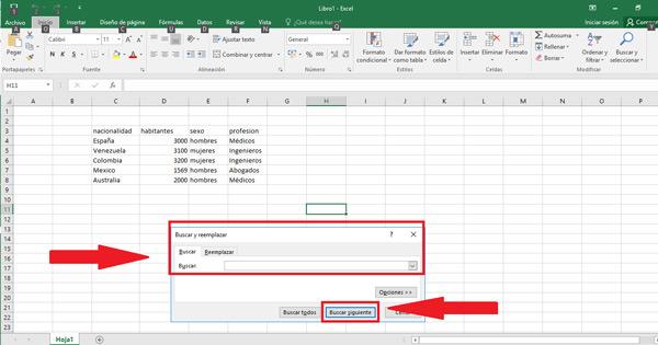 Come cercare una parola in Microsoft Excel utilizzando funzioni o tasti? Guida passo passo 4
